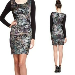 NWOT Tracy Reese size 4 jacquard contrast dress